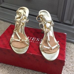Guess by Marciano Odom's/BGS- Open toe heel pumps
